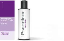 Psoratinex Tisztító gél 200ml